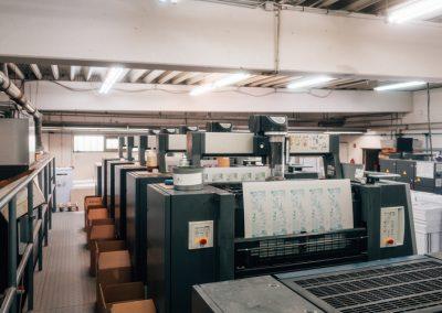 Druckerei Frechen Druckmaschine Offset