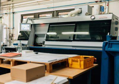 Druckerei Frechen Maschine