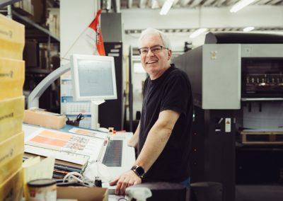 Druckerei Köln Mitarbeiter-Proof